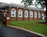 Formerly the Chapel, now a Gym